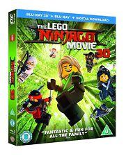 The Lego Ninjago Movie (3D Blu-ray)