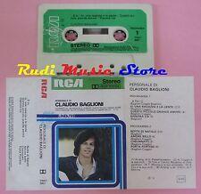 MC CLAUDIO BAGLIONI Personale di 1976 italy RCA LINEATRE 3001 no cd lp dvd vhs *