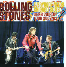 THE ROLLING STONES -EVERYBODY NEEDS CHICAGO BLUES- Japan 2xCDs