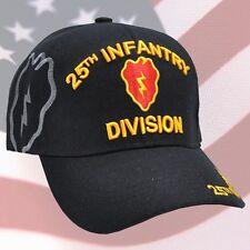 US ARMY 25th Infantry Division Ball Cap Korea Vietnam OEF OIF Veteran Vet Hat