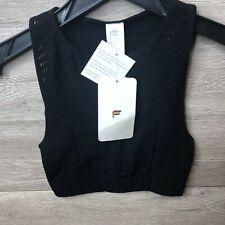 Fabletics Women's Size Small Darda Sculp Knit Bra Black NEW