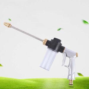 High Pressure Water Spray Gun Car Washing Machine Garden Watering CleaningJ^lk
