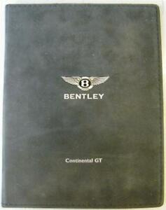 BENTLEY Continental GT Car Press Pack c 2002