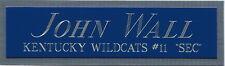JOHN WALL KENTUCKY NAMEPLATE AUTOGRAPHED Signed BASKETBALL-JERSEY-PHOTO-FLOOR