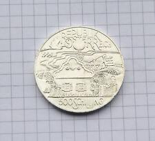 500 Schilling Münze, 1994 Panonische Region, prägefrisch, Top Erhaltung