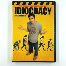 IDIOCRACY (DVD, 2006) Luke Wilson, Dax Shepard
