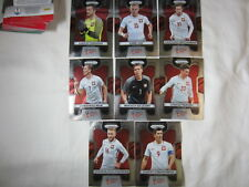 998005385 Poland 2018 Prizm World Cup Team Set - Card Count  8 - Lewandowski