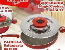MAGIC COOKER Coperchio inox 18/10 classic 31cm +2 omaggi saltapasta e ricettario