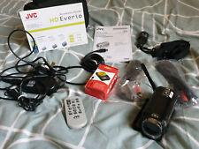 JVC EVERIO GZHD300 60GB 1080p FullHD Camcorder Camera w/accessories