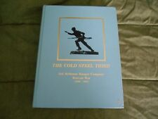 The Cold Steel Third : Third Airborne Ranger Company Korean War (1950-1951) by R
