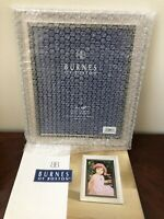NEW IN BOX Burnes Of Boston Picture Frame 8X10 Wall Or Hanging  Modern Style