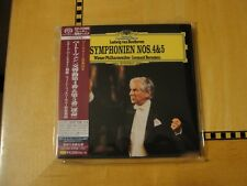Beethoven - Symphony 4 & 5 Bernstein - SHM-SACD Super Audio CD Japan SACD