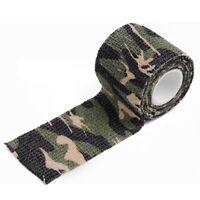 2stk Outdoor Jagd Camo Wasserdichte Tensil Elastizität Camouflage Stealth Tape