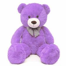 47 Inch Giant Teddy Bears Big Cute Plush Teddy Bear   Purple Valentine's Day
