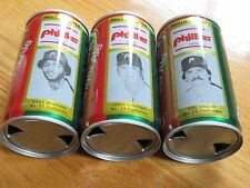 DEL UNSER No 25 CANADA DRY 1979 PHILADEPHIA PHILLIES Commerative 12oz Can