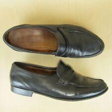 Allen Edmonds Italy Penny Loafer Apron Moc Toe Slip On US 10.5 D Men 49010 Black