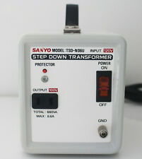Sanyo Step Down Transformer Input 120V Output 100V Total 660VA TSD-N06U