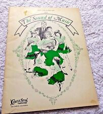 SOUND OF MUSIC INSCRIBED SIGNED BY DOROTHY COLLINS HILLSDALE INN SAN CARLOS CA