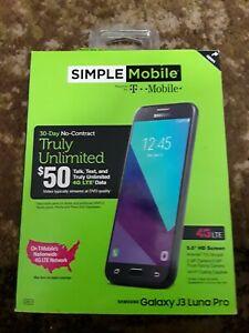 "SIMPLE Mobile Samsung Galaxy J3 Luna Pro 5"" 4G LTE 16GB Smartphone"