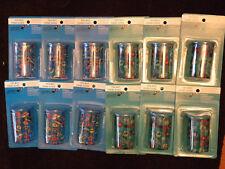 YOOBI Plastic Pencil Sharpener Lot Of 12 Assorted Sharpeners New