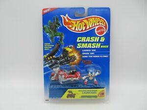 1995 HOT WHEELS Crash & Smash Bikes SONIC THE HEDGEHOG  Mattel Sega NIP! RARE!