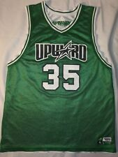 Upward Basketball Jersey Green And Whte Reversable size L