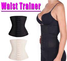 Women Waist Trainer Corset Body Shaper Cincher  Tummy Control Sweat Belt Slimmer