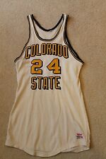 1950s-60s Vintage UNC Northern Colorado BEARS Game Used Durene Basketball Jersey