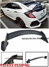 For 16-Up Honda Civic Hatchback Type R Style ABS Plastic Rear Trunk Wing Spoiler
