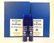 Acqua Di Parma Blu Mediterraneo MANDORLO D SICILIA 1.2ml Cologne Spray Sample x2