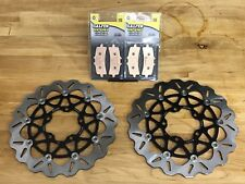 Galfer Wave Rotors And HH Pads TRIUMPH THRUXTON R 1200 2016+