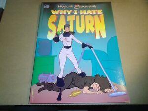 WHY I HATE SATURN Kyle Baker Graphic Novel DC Vertigo Comics 1990