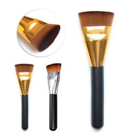 Pro Makeup Tool Cosmetic Flat Contour Brush Powder Foundation Cheek Face Brushes