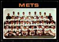 1971 Topps Team Card Mets #641 *Noles2148* Cs 10=Fs