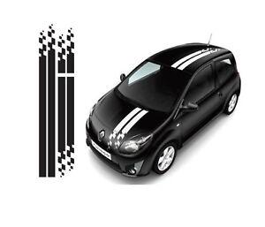 Renault Sport Streifen Dekor Aufkleber für Twingo, Clio, Megane e.c.t