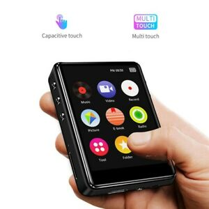 Full Touch Screen Bluetooth 8G 16G Lossless Sound Video Music Player Support