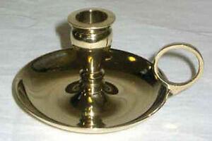 Brass Chamberstick Mini Chime Candle Holder!
