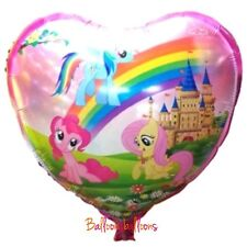 "My little pony 18"" heart foil balloon birthday party Decoration"
