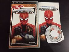PSP : SPIDERMAN L'UNION SACREE LE REGNE DES OMBRES