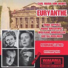 Weber Euryanthe Ferdinand Leitner Trude Eipperle Wolfgang Windgassen 1954 2CD