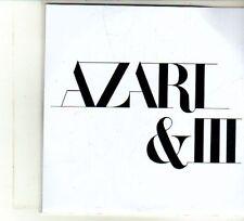(DU398) Azari & III, 4 track Album Sampler - DJ CD