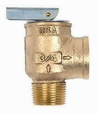 "CONBRACO 10-407-05 3/4"" 30 PSI Boiler Relief Valve MXF"