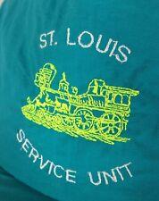 Vintage St Louis Service Unit Snapback Hat Train Locomotive