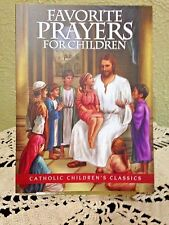 NEW *FAVORITE PRAYERS For CHILDREN* Religious Book by Aquinas Press 32 pages