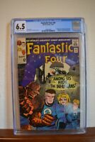 Fantastic Four #45, CGC 6.5 Blue Label, OW/White Pages,1st appearance Inhumans