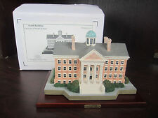 UNC U Of NORTH CAROLINA South Building Replica FIGURINE NEW In BOX lighted