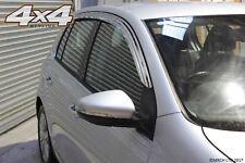 Per VW Golf MK5/MK6 Deflettori Vento Cromato due volumi - 5 PORTE