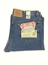 NOS Levis Vintage 80s USA MADE Button Fly 501 XX Long Denim Shorts Men's 40