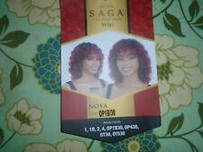 SAGA BRAZILIAN WIG REMY HUMAN HAIR MILKY WAY NOVA WIGS OMBRE