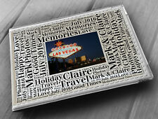 "Personalised photo album, memory book, 6x4"" photos, Las Vegas America holiday"
